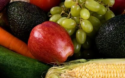 5 al día Chile te muestra el arcoíris de las frutas y verduras