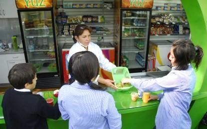Kioscos saludables en los colegios: alimentarse bien y divertirse